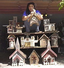 Parayno on bird houses