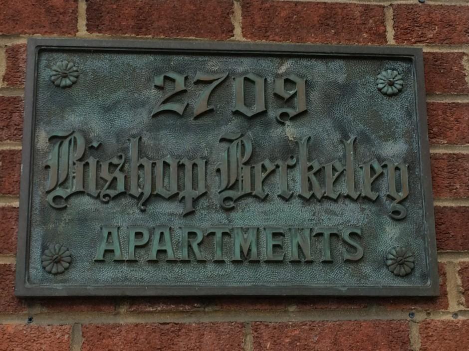 Bishop Berkeley 2709 Telegraph