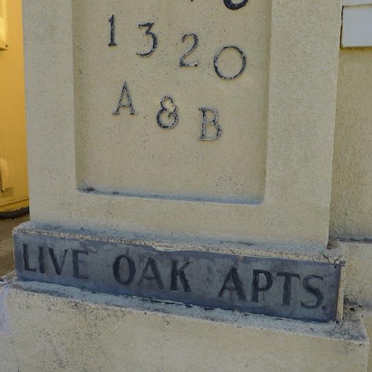 Live Oak Apts. 1318-1320 Shattuck