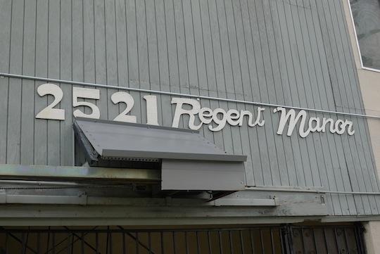 Regent Manor 2521 Regent