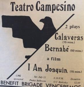 Teatro Campesino : I am Joaquin