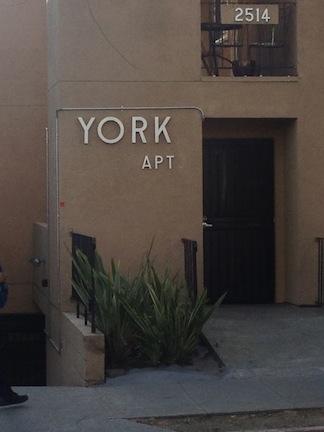 York Apt. 2514 College