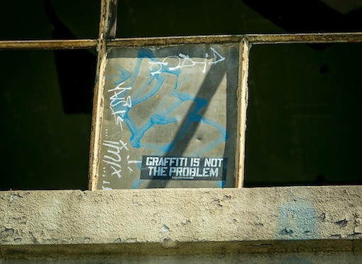 Graffiti not problem