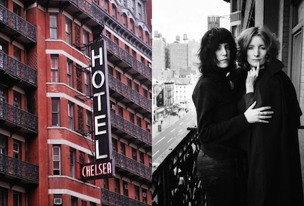 Chelsea Hotel, Viva and Patti Smith
