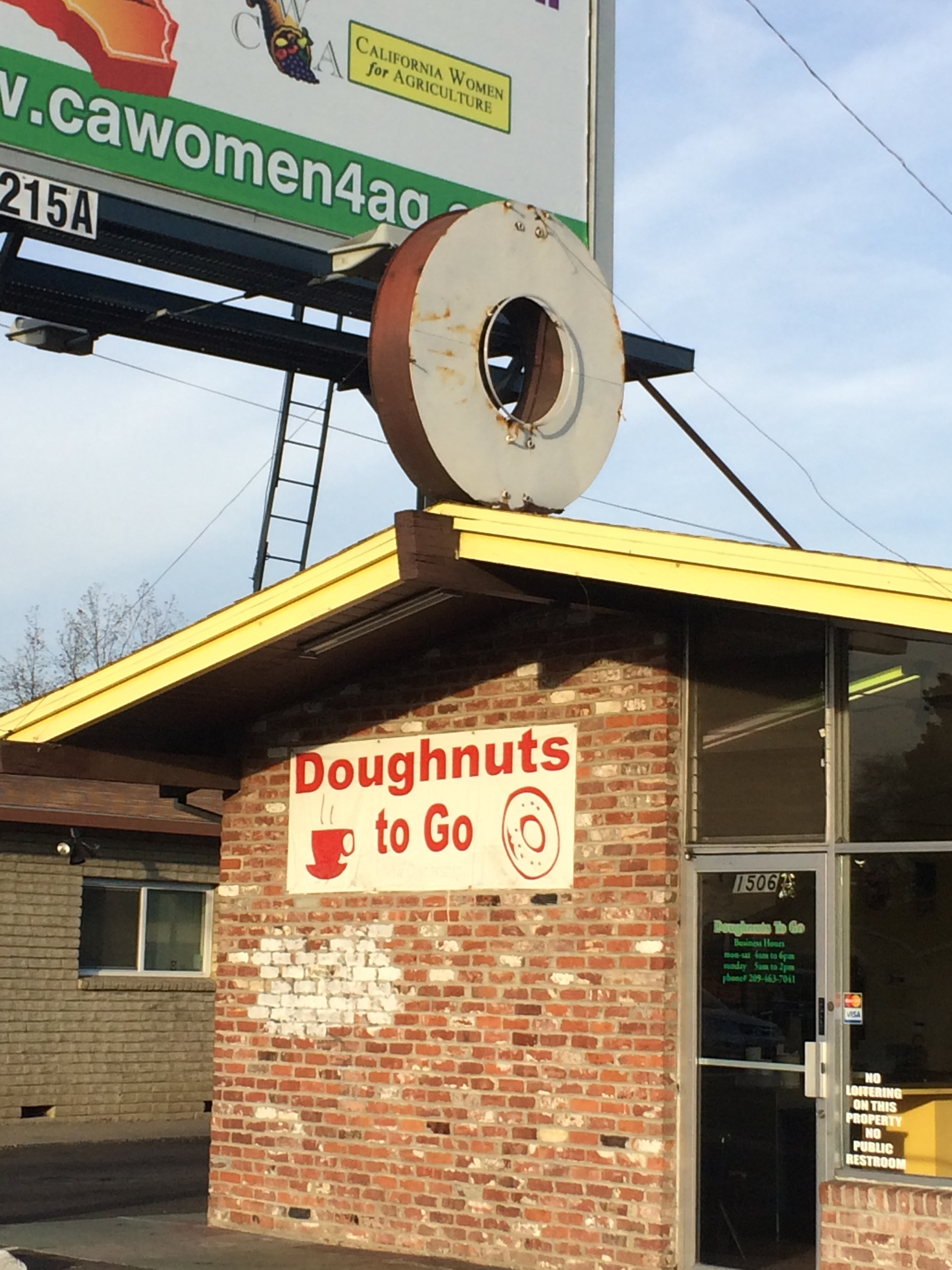 Douhgnuts to Go, Stockton