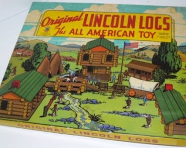 Lincoln Logs Set
