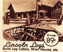 Lincoln logs built