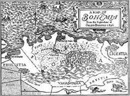 Map Bohemia