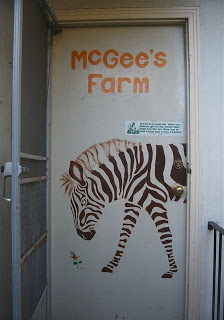 McGee's Farm Door