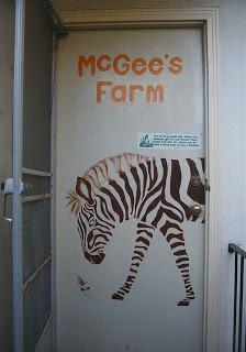 McGee's Farm Door