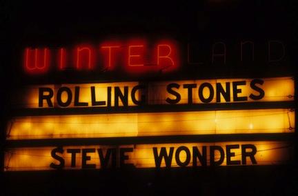 Rolliing Stontes Stevie Wonder