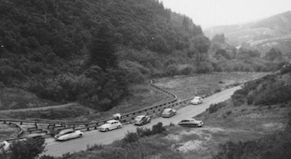 Layout at Redwood Regional Park, 1951