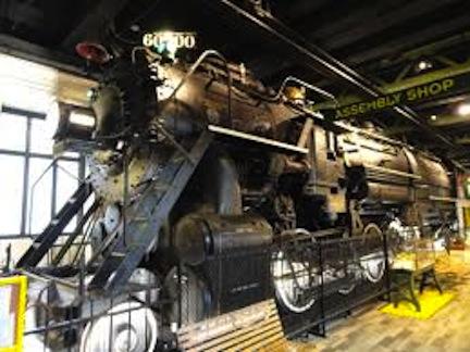 Franklin Institue big train