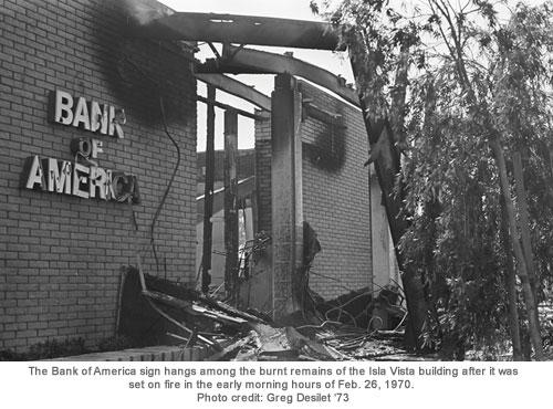Isle Vista burned