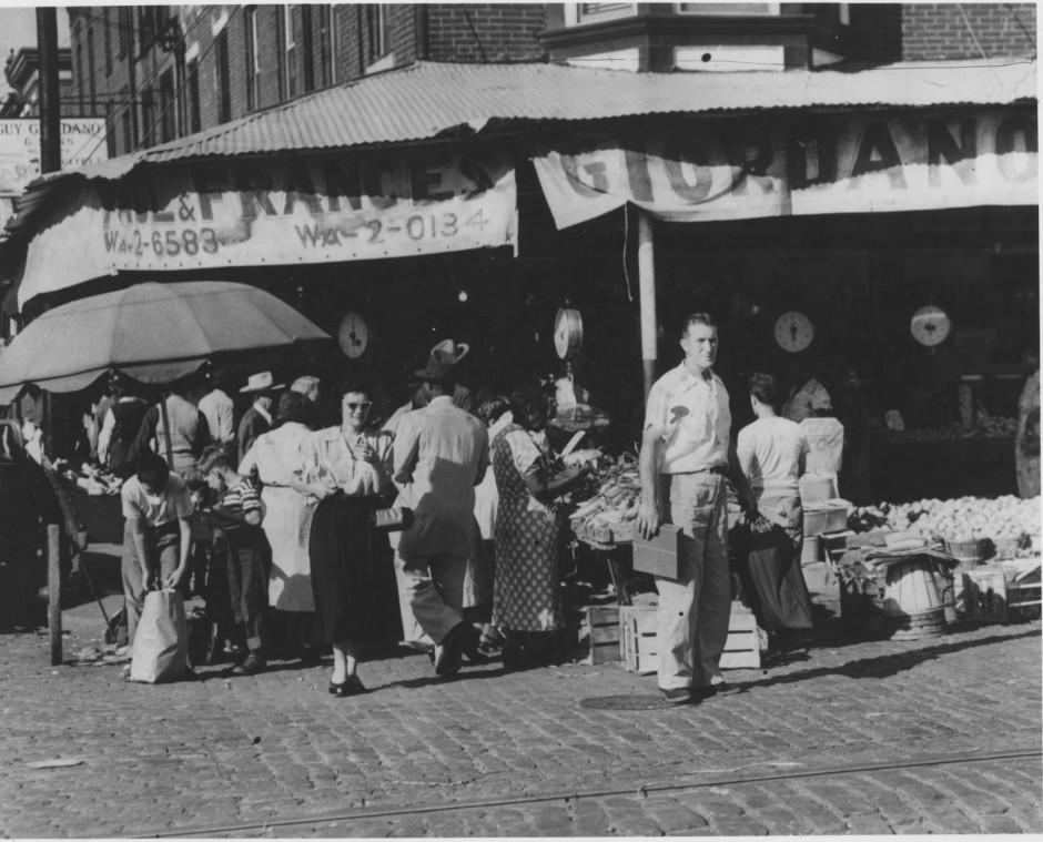 Italian+market+n+9+st$2C+c1952$2C+philadelphiana$2C+markets
