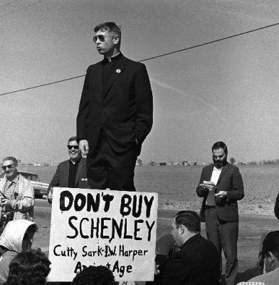 Sam Kushner, People's World (left)