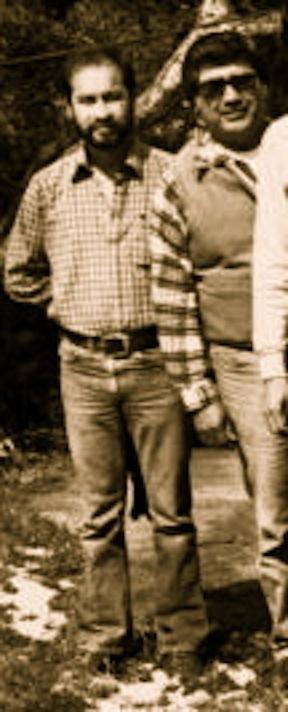Oscar Mondragon (on left)