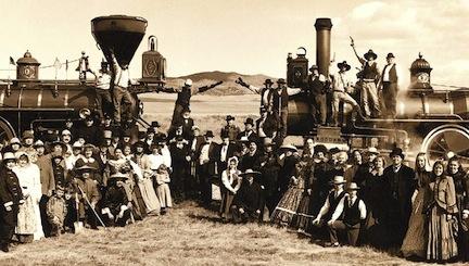 Promontory Utah 1869Celebration