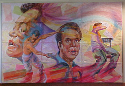 """The Essence of Huey P. Newton,""  by Darrel Anderson, Denver"