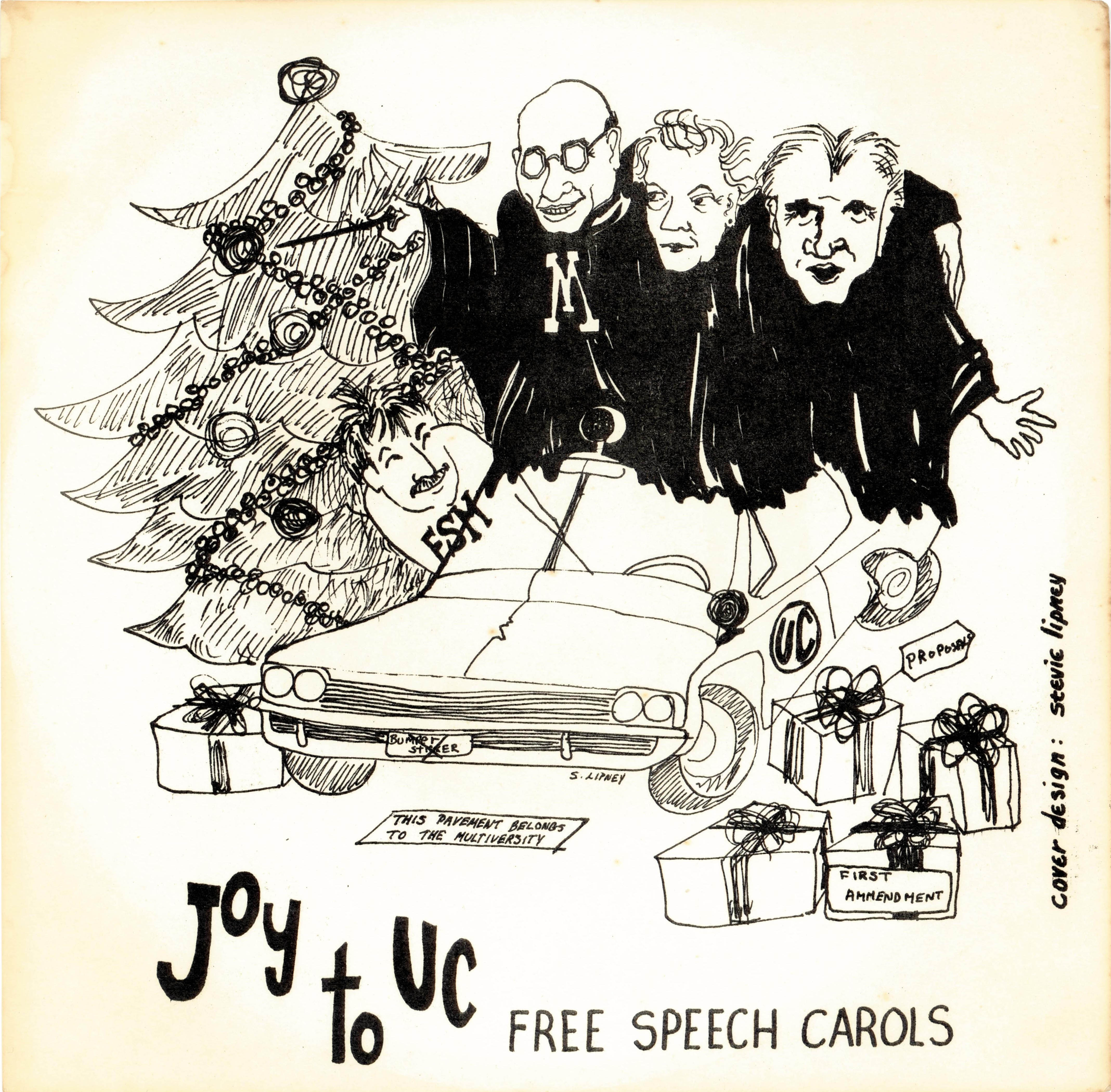 1964-11-24-free-speech-carols-record-front-cover