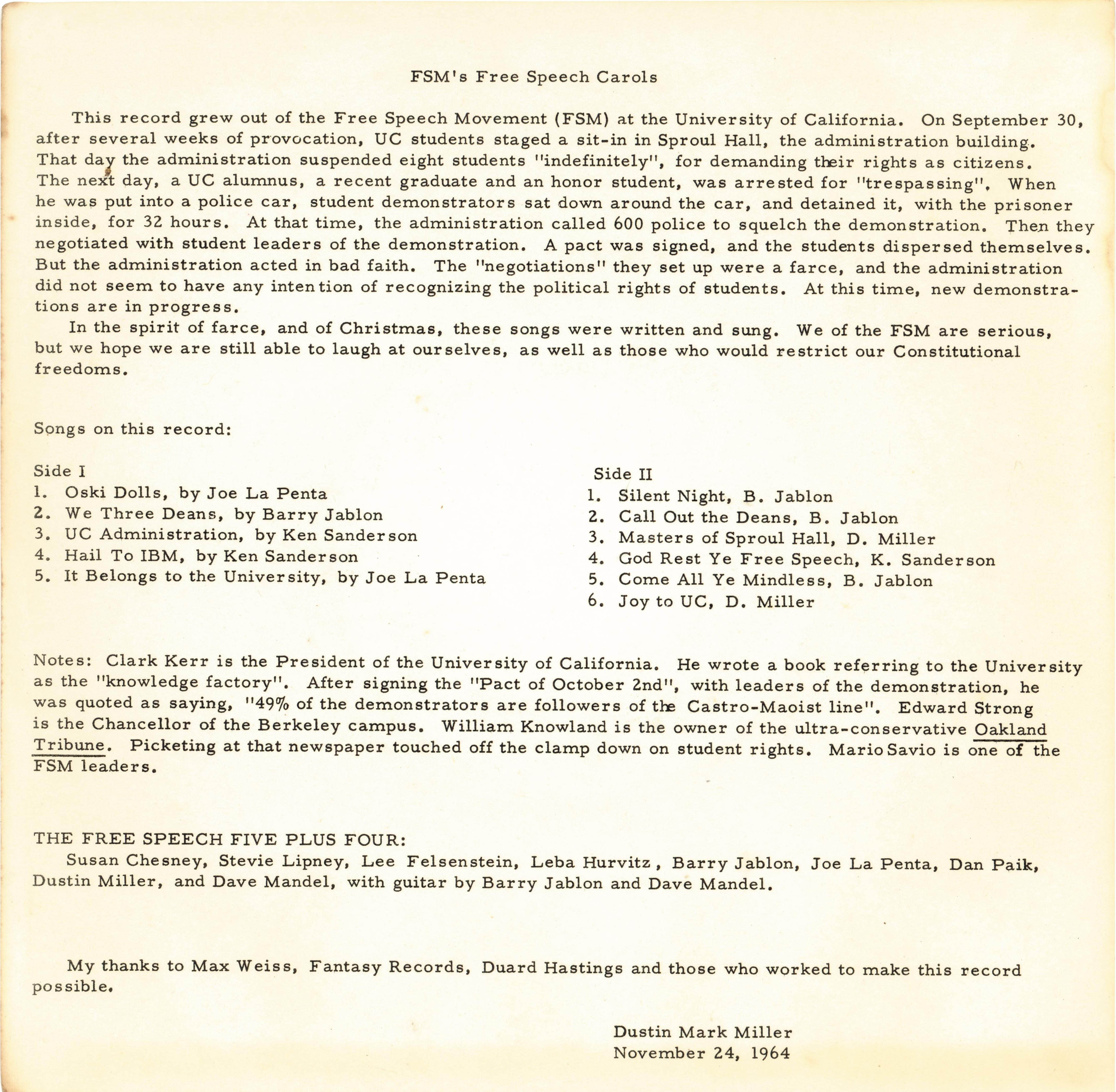 1964-11-24-free-speech-carols-record-rear-cover