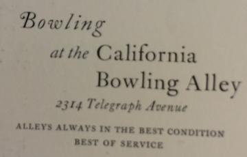 2314 Bowling 1923