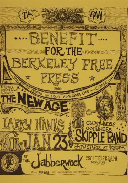 Berkeley Free Press Benefit
