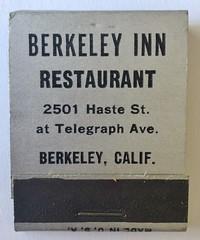 Berkeley Inn restaurant