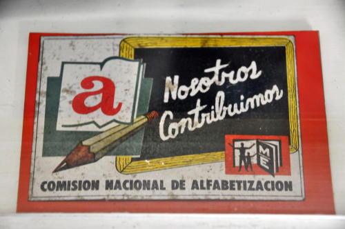 Cuba Literacy campaign 3
