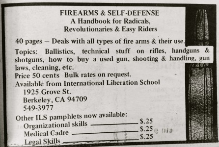 Firearms and Self Defense Ad
