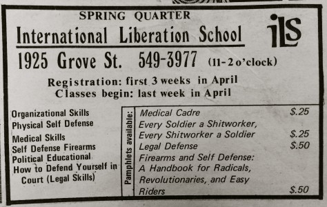 Liberation School Spring Quarter