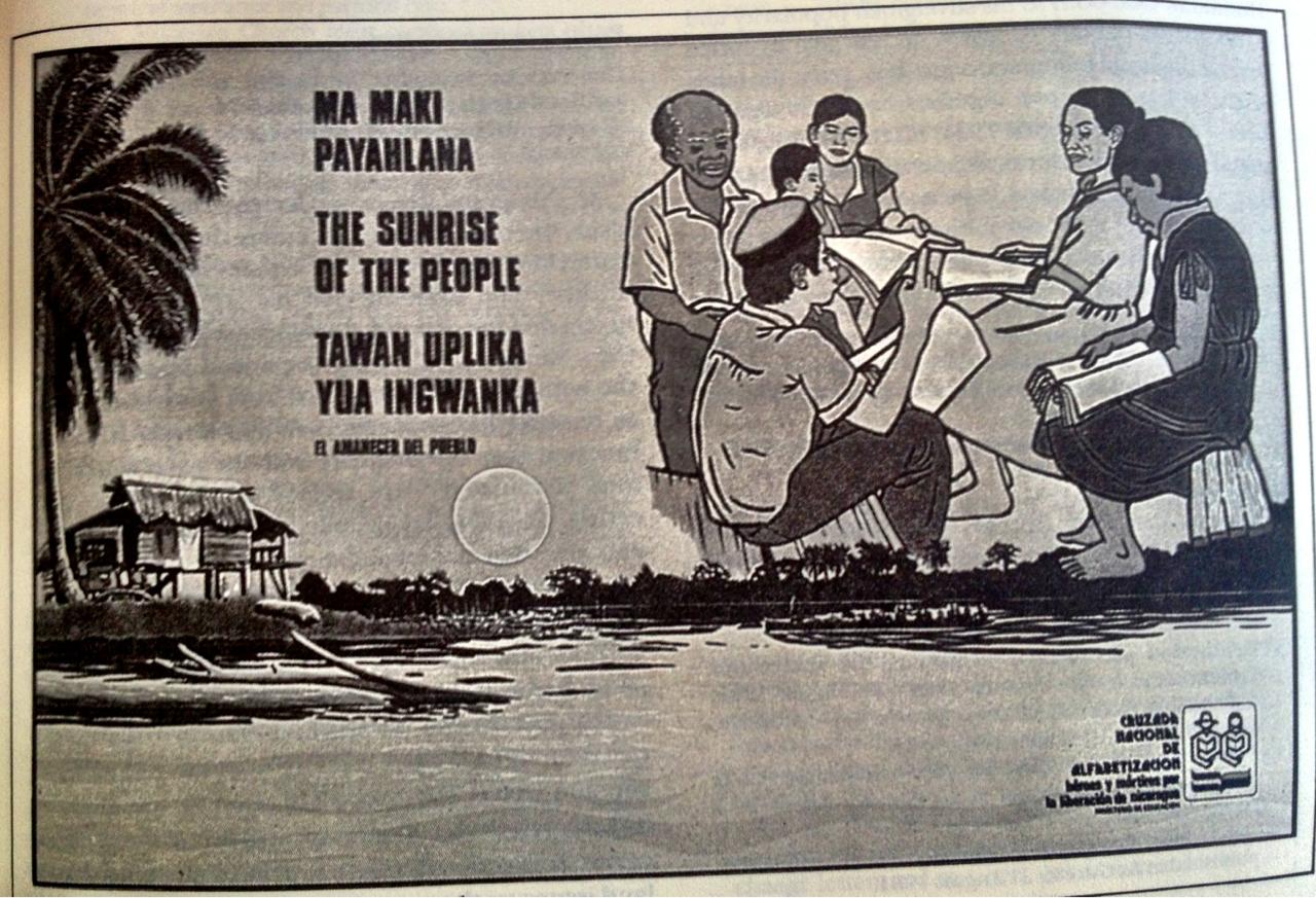 Nicaracuga Literacy Poster 4 Indigenous