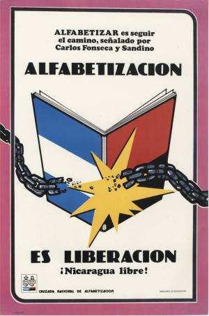 Nicaragua Lieracy Poster