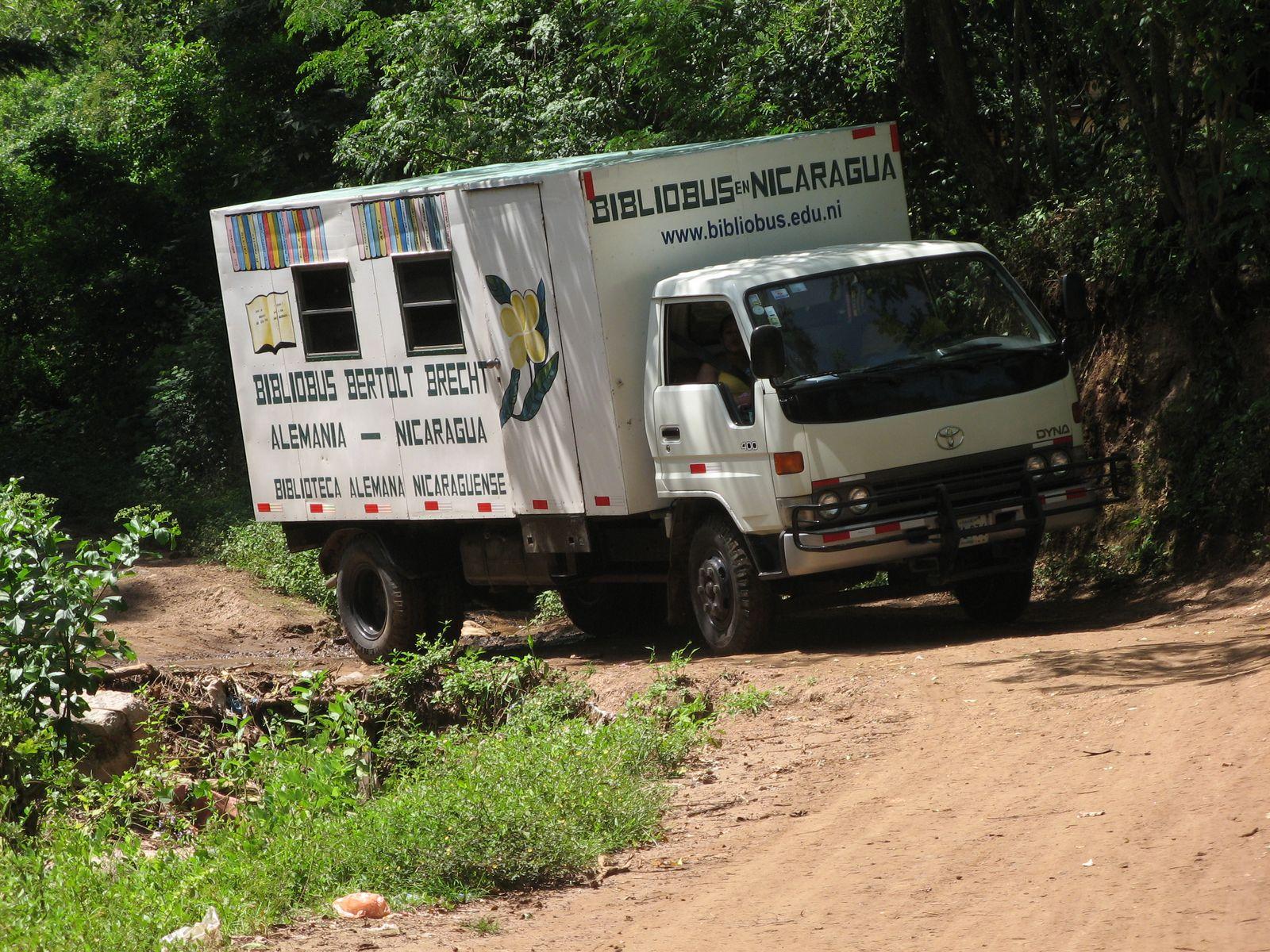 Nicaragua Literacy Truck