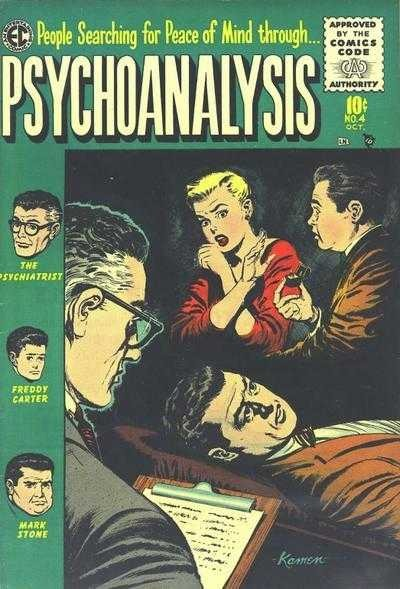 Pyschoanalysis Comic 1955