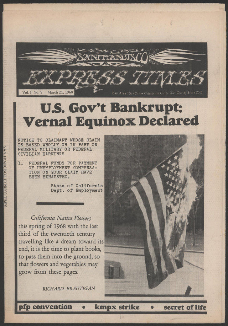 SFX US Gov't Banrupt