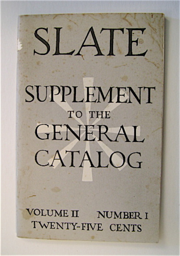 SLATE Supplement Vol. II