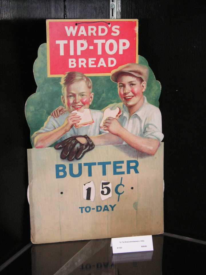 Bread butter adTipTopButterPrice