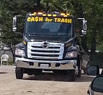 Cash for trash