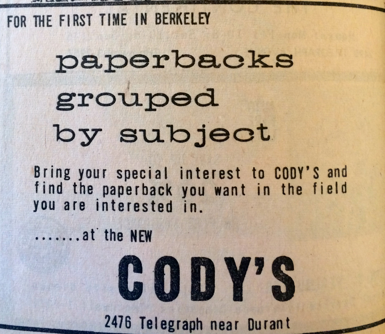 Cody's Paperbacks by Subject Near Durant