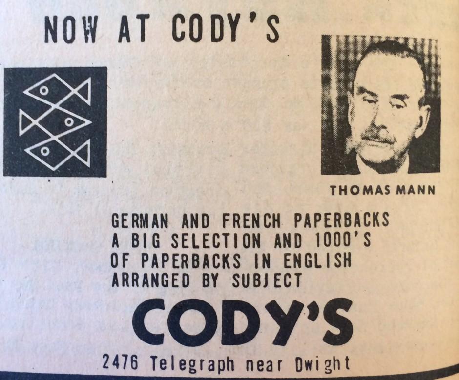 Cody's Thomas Mann