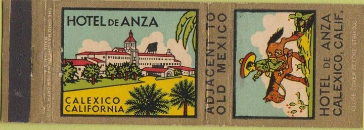 De Anza Matchbook