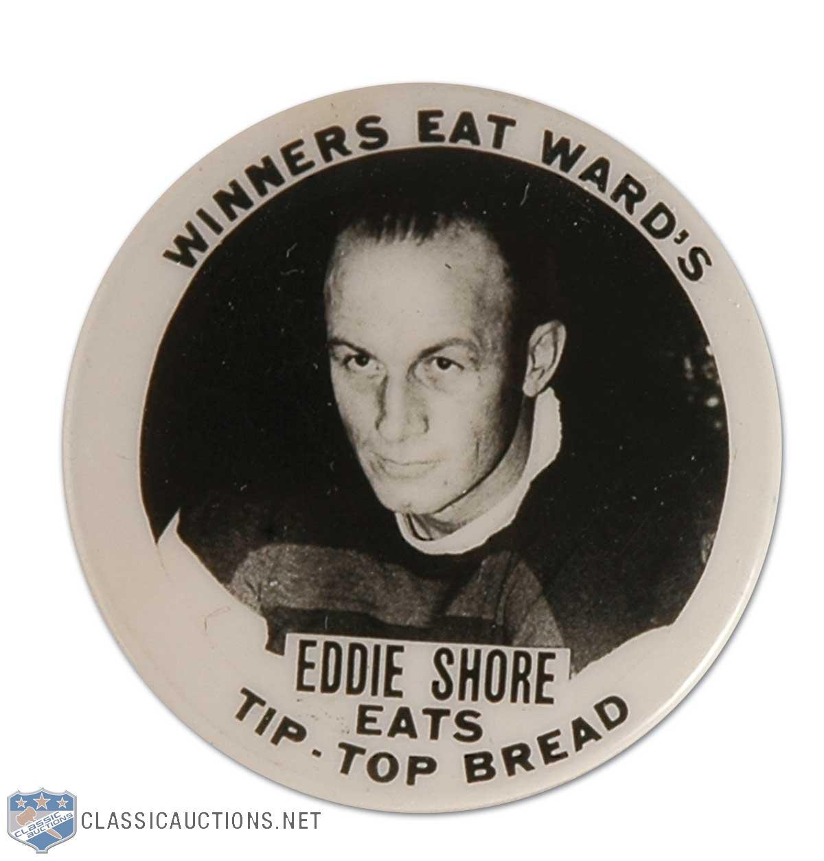 Eddie Shore Button