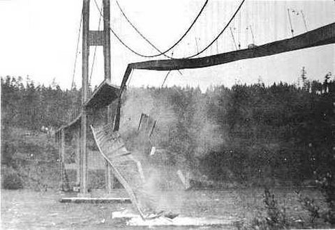 Galloping Gertie Collapse