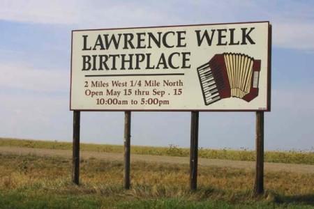 Lawrence Welk Sign. Strasburg NDjpg