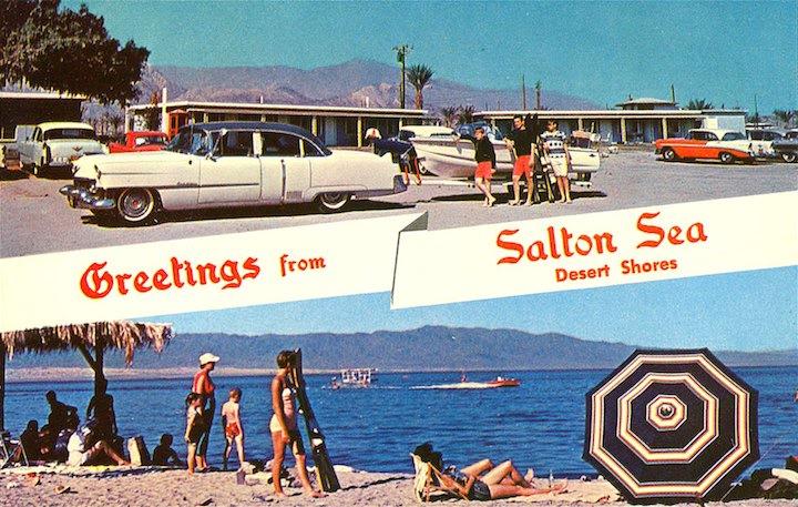Salton Sea Postcard 1