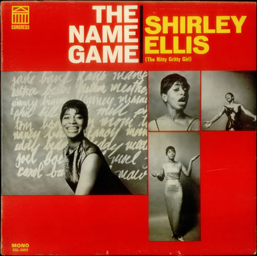 Shirley+Ellis+-+The+Name+Game+-+LP+RECORD-545153