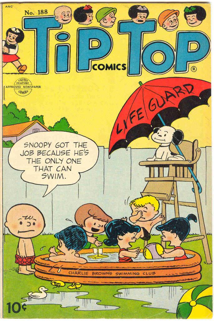 Tip Top Comics #188 (Sept-Oct54)
