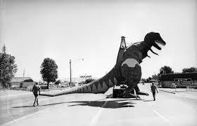 Vernal T Rex Moving