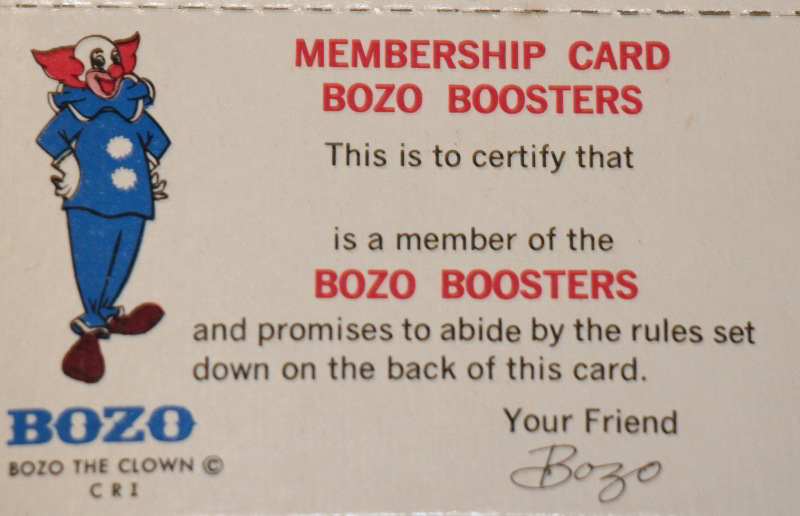 Bozo Club Car